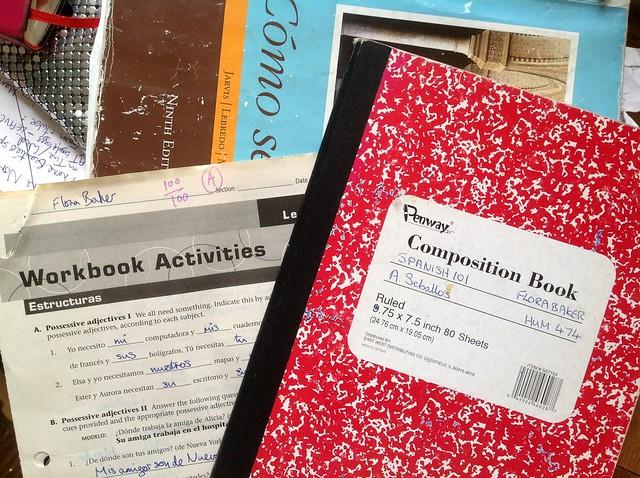 Spanish class books