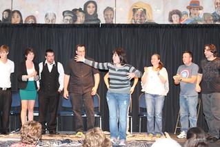 alumni comedians performing