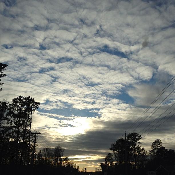 Lovely sky!