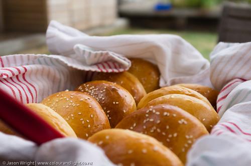 Australia Day Burgers and Pavlova