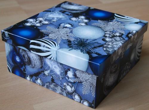 Deko-Box selbstgebastelt