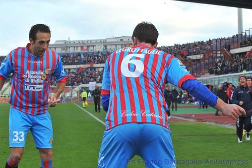 Insaziabile Catania, messa Ko la Fiorentina e il sogno continua$