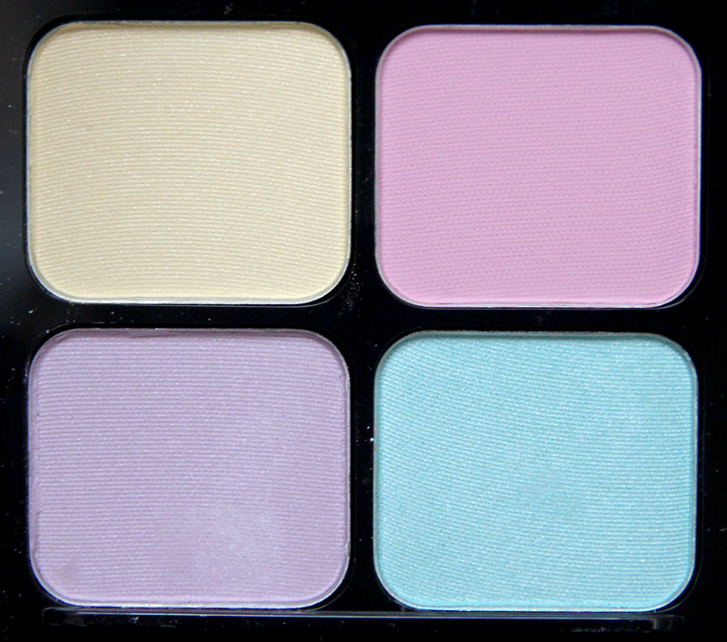 IsaDora gelato eye shadow quartet2
