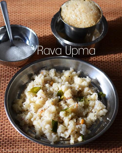 rava-upma + fliter coffee
