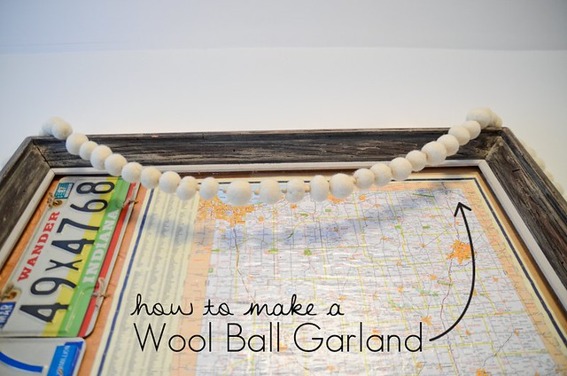 How to make Felted Wool Balls