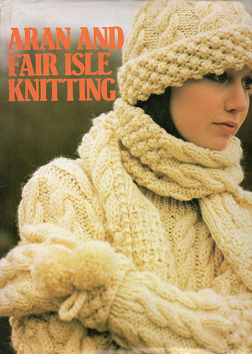 Aran & Fair Isle Knitting cover