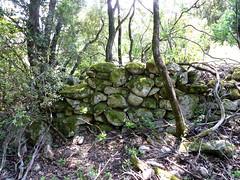 Anciennes bergeries de Lora : ruines d'une bergerie (la plus proche)