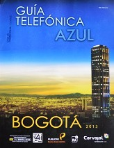 Guía Telefónica Azul de Bogotá 2013