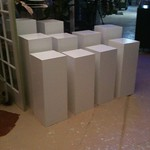 Cubes, Risers for displays, exhibitions for Rent at Shop Studios - ShopStudios.com