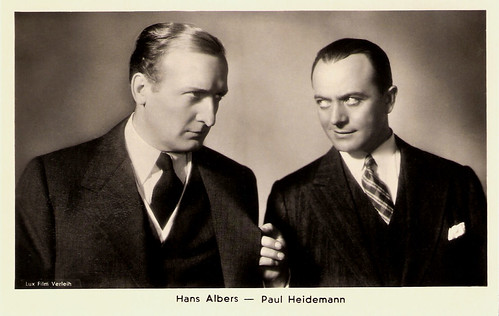 Hans Albers, Paul Heidemann
