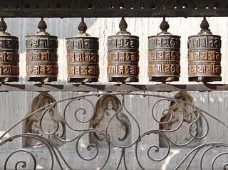 Image of Swayambhunath near Kathmandu. stupa religion népal bouddhisme swayambhunath dalbera moulinsàprières