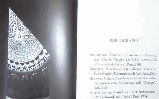 © le livre Introduction aux mystères, Actes Sud, 2012