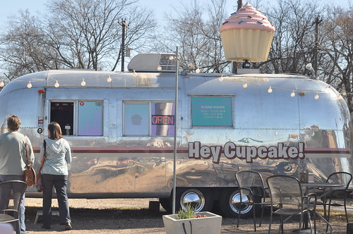 Hey Cupcake Truck Austin