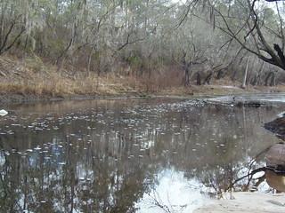Looking east (downstream)