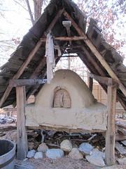 hut, wood, cob,