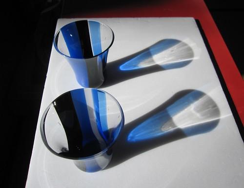 ダンディなグラス(ブルー)A、B by Poran111