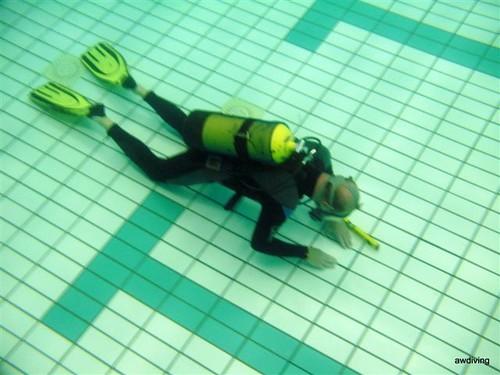 Onderwater Lijmen zwembad tegels