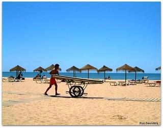 Vilamoura Beach. The Algarve, Portugal.