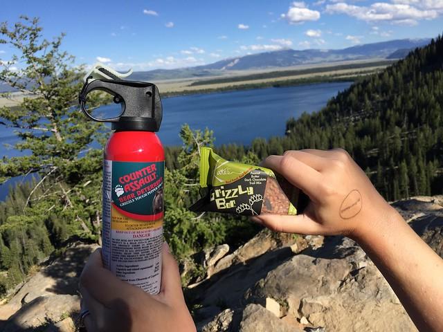Hiking to Inspiration Point, Grand Teton National Park
