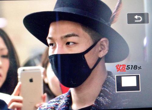 Big Bang - Incheon Airport - 21mar2015 - Tae Yang - YB 518 - 04