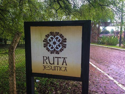 Trinidad: après la route des vins à Salta, voici la route jésuite ;)