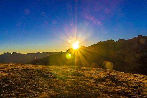 sunrise pyrenees pasdelacasa andorra mountain lanscape sky outside