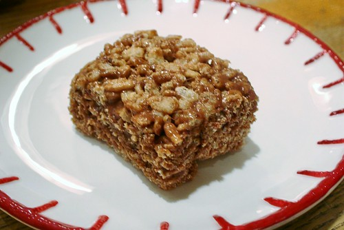 Nutella Rice Krispie Treats #recipe