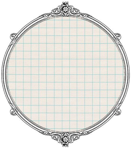 2 vintage graph paper -  free printable paper SAMPLE