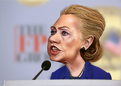Hillary Clinton - Caricature