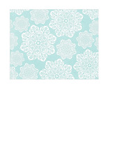 A2 size JPG batik flower Snowflakes various sizes paper SMALL SCALE