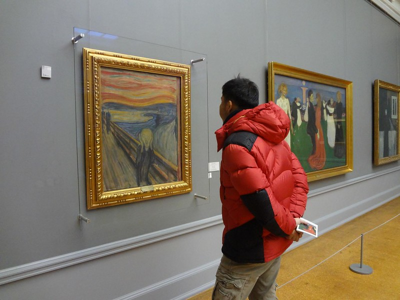 Pintura O Grito de Edvard Munch