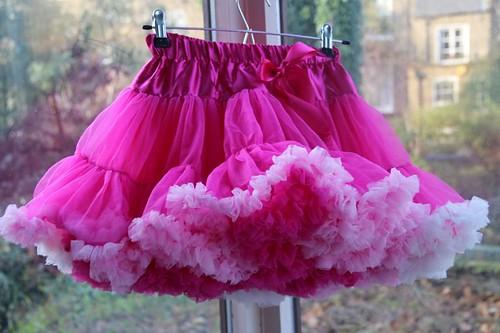 frilly pink tutu