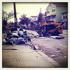 After Hurricane Sandy at Barnum Island, NY