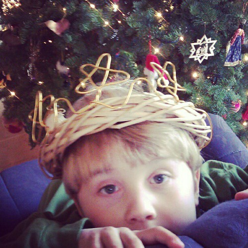 Star Boy crown for Santa Lucia Day
