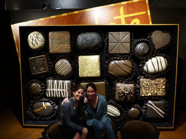 Chocolate wall