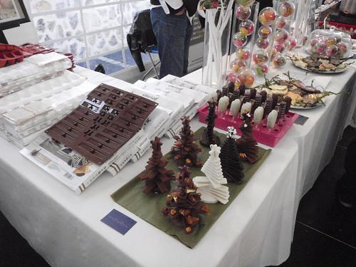 choinki z czekolady