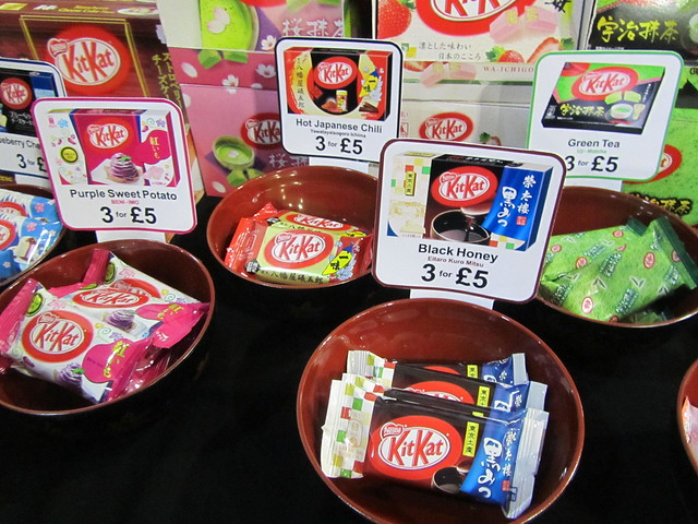 Japanese Kit Kats from Sushi Noms at Hyper Japan