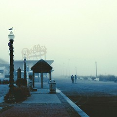 Fog on the Boardwalk