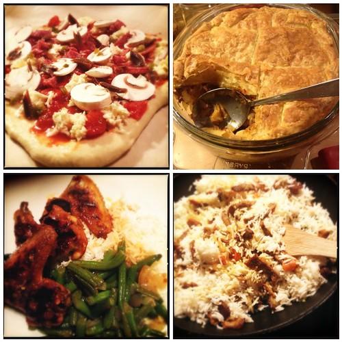 Zeven dagen buitenlandse gerechten