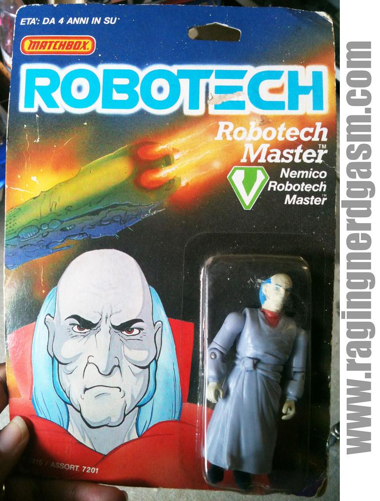 Robotech by Matchbox Robotech Master