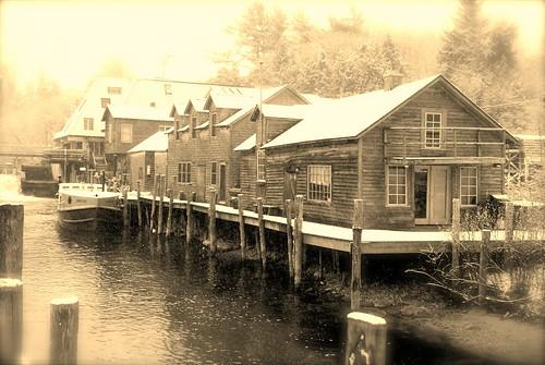 Leland River.