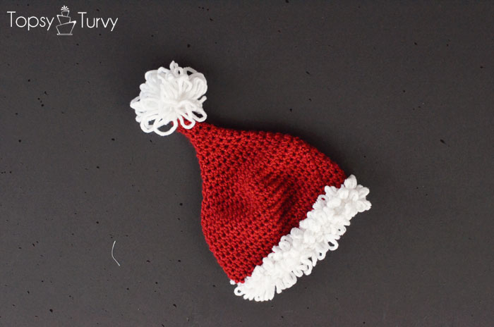 crochet-santa-hat-double-loop-pattern