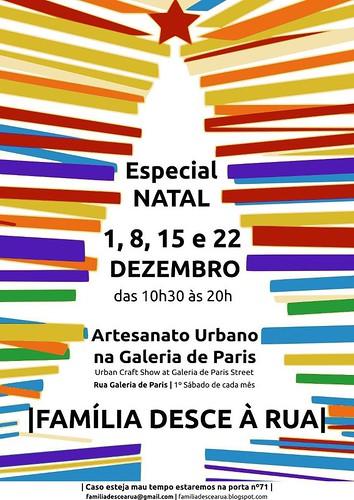 última feira do Ano FAMILIA DESCE Á RUA DEZEMBRO by Linhas Arrojadas Atelier de Costura ® Trademark