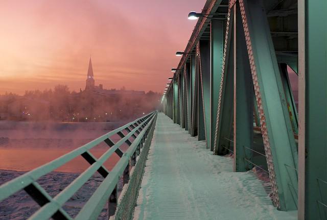 Railway Bridge, Rovaniemi
