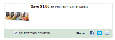 $1.00/1 Phillips Skillet Meals Coupon
