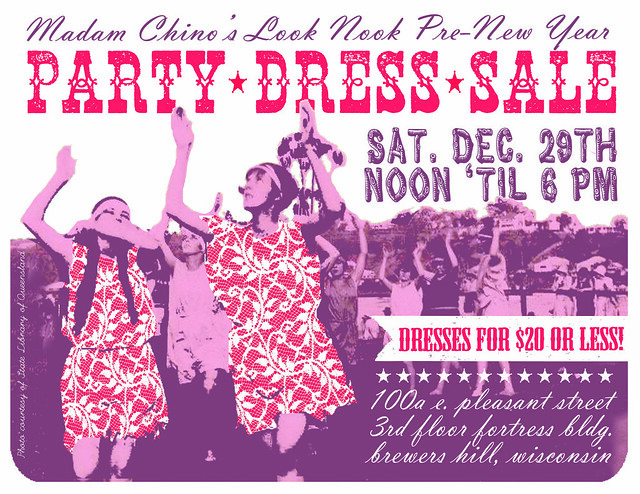 {LOOK NOOK: New Years Party Dress Sale!}