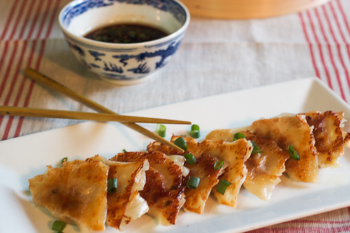 Pork and Scallion Potstickers
