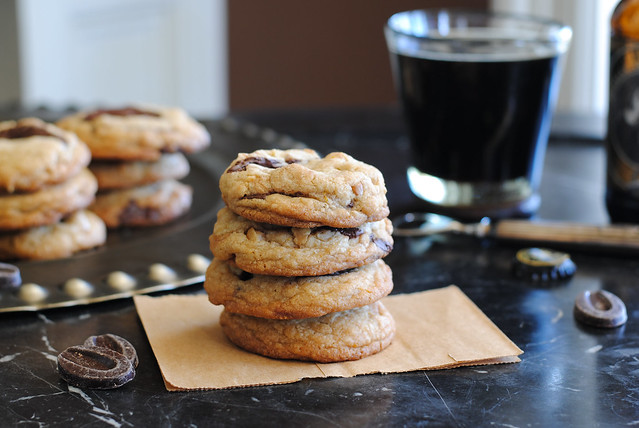 Chocolate Chunk, Hazelnut, Orange Cookies