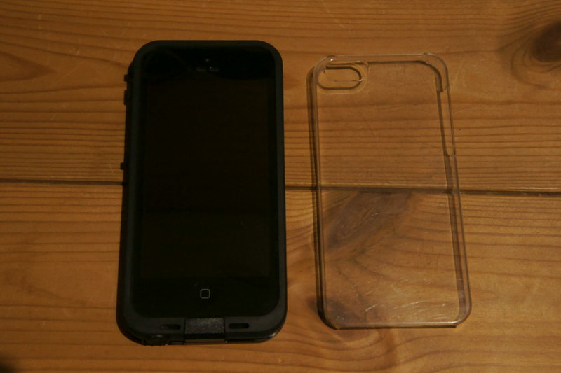 LifeProof fre iPhone 5 Case DSC04470