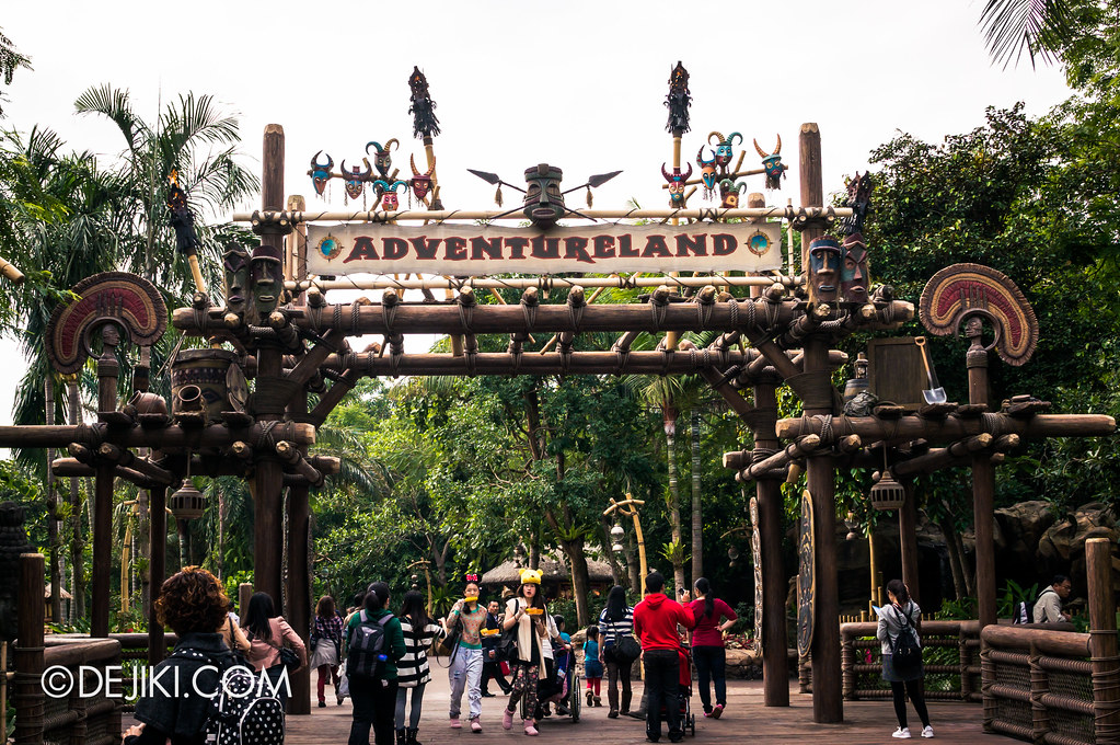 Adventureland, Gateway - Day